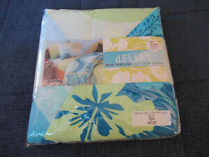 Delias dELiA*s Wave Sweet Dream Twin XL Sheet Set/Matching Cover Wave/Hibiscus