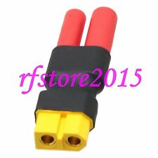 XT60 Female to HXT 4mm Bullet Male No wire adapter for Turnigy / Gens Ace Lipo