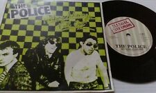 "Police Fall Out - Green 7"" vinyl single record UK IL001 ILLEGAL 1977"