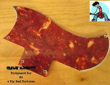 Red Tortoise 4-ply SG Pickguard for Epiphone     Gibson