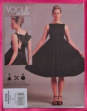 Easy! VOGUE Designer Andrea Katz Cocktail Dress Pattern V1102 14-16-18-20 FF