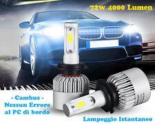 LAMPADE ABBAGLIANTI LED ALFA ROMEO 147 CANBUS 6000K LAMPEGGIO ISTANTANEO 72W