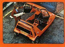 Reliant Bond Bug anni 1970 SALES BROCHURE A SCANSIONE COPIA DI