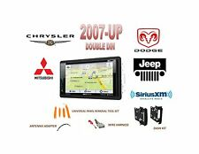 2007-UP CHRYSLER DODGE JEEP Touchscreen Bluetooth GPS Sirius XM Ready Stereo