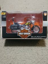 Harley-Davidson 2000 FLSTC Heritage Softail Classic series 10 1:18