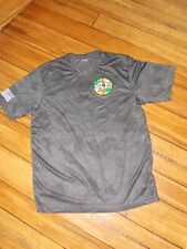 """Sport-Tek Camo size L T-Shirt """"committed to the wounded warriors"""" unisex"""