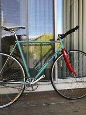 Bianchi fixed gear bicycle (commuter, courier, cruise)