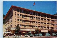 *1960s Hotel Terminus Switzerland Glacier Restaurant Vintage 4x6 Postcard C70