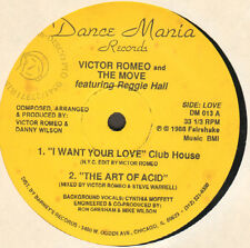 VICTOR ROMEO AND THE MOVE - I Want Your Love - Feat. Reggie Hall - Dance Mania