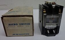 "HONEYWELL MICRO SWITCH RYCA20 MICROSWITCH MODEL ""B"" RELAY 600 V VOLT 10 A AMP"
