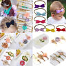3pc Cute Baby Girl Toddler Lace Bow Hair Band Headwear Kids Headband Accessories