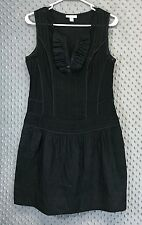 Richard Chai for Target Juniors 9 Dress Black Sheer Top Solid Skirt Casual Work