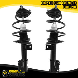 Front Pair Complete Struts & Coil Spring Assemblies for 2011-2014 Hyundai Sonata