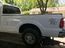 2012 Ford F250 F350 White Truck Bed - 8ft