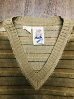 Vintage Kennington 1970's Mens V-Neck Sweater Size: Medium EUC