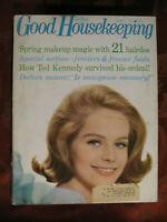 GOOD HOUSEKEEPING Magazine April 1965 Jack Lemmon Daphne Du Maurier Hugh Cave