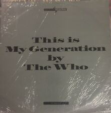 THE WHO My Generation/Baba O' Riley/ Substitute/Behind Blue Eyes 4 Track UK 12""