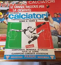 CALCIATORI PANINI ** ALBUM 1965/1966 ** reprint Unità ( Ottimo )