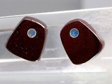 Opale Boulder incrustation Opale cristal 9ct 2PCS ~6761 Inlayed Boulder Opal cab