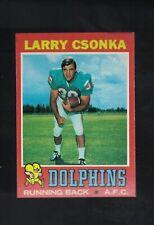 1971 Topps Football Larry Csonka #45 *DOLPHINS*  HOF