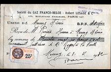 """MEUNG-sur-LOIRE & PARIS (45 / XVI°) USINE à GAZ """"GAZ FRANCO-BELGE"""" en 1932"""