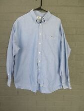 LACOSTE SUMMER BLUE OXFORD CLOTH SHIRT SIZE 43