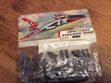 Vintage Airfix Bagged Kit Folland Gnat Red  Stripe 1/72