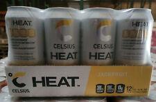 CELSIUS Heat Zero Sugar Fitness Energy Drink - 12-Pack Choose Flavor