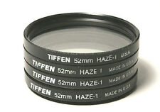 Tiffen 52mm Haze Haze-1 52 mm filter made in USA for Canon Nikon Sony etc