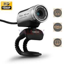 AUSDOM AW615 1080P Full HD 12.0M USB2.0 Webcam Video Network Camera w/Mic Skype