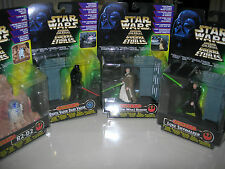 Kenner Star Wars Force F/X Darth Vador, Ben Kenobi, Luke Skywalker + R2-D2 Set