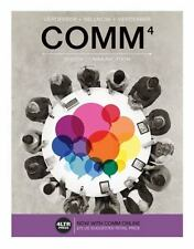 COMM4 Speech Communication by Verderber ISBN 9781305659582 w/ (access code)