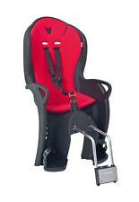 Hamax KISS Fahrrad Kindersitz schwarz Bezug rot Fahrradsitz NEU