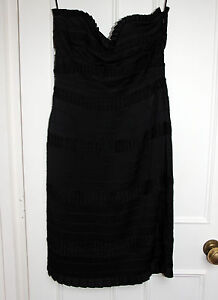 Alice Temperley Strapless Bandeau Style Ophelia Dress NEW WIth Tags UK10 US6