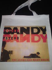 SHOULDER TOTE BAG THE JESUS AND MARY CHAIN punk dd cd vinyl