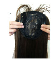 Long Synthetic hair Topper Piece Women Hairpiece Toupee closure Bang Natural