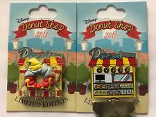 Disney Parks Disneyland 2018 Dumbo Donut Shop hinged LE Pin of the Month