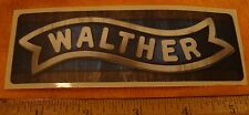 Walther Firearms Decal Sticker