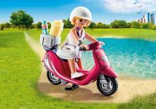 Playmobil Special plus nº 9084 # playa-girl con Roller # unas vacaciones de verano en Vespa