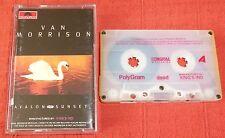 VAN MORRISON - INDONESIAN CASSETTE TAPE - AVALON SUNSET - KING'S