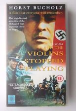 AND THE VIOLINS STOPPED PLAYING VIDEO VHS 1993 124 MINS TRUE STORY HOLOCAUST