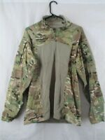 ARMY COMBAT SHIRT (ACS), IMPROVED (TYPE II), 3/4 ZIP, FLAME-RESISTANT,OCP-SMALL