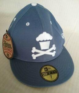 New Era 59Fifty 7 Baseball Peak Cap Hat Johnny Cupcakes NWT