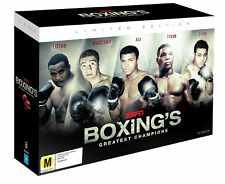 ESPN: BOXING'S Greatest Champions DVD BRAND NEW RELEASE 10-DISC GIFT BOX SET R4