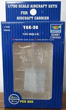 Trumpeter Soviet Yakovlev Yak-38 VTOL strike fighter aircraft model kit 1/700