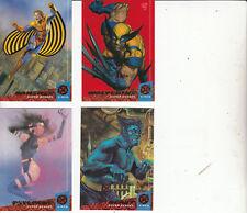 X-Men:94 Fleer Ultra-[4 Cards 3,6,7,9]-Lot3-Cards