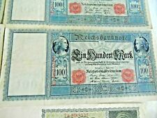 German 10000 MARKS + banknotes 1922 COLLECTION