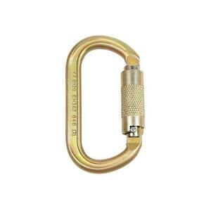 ISC KL321 Twist-Locking Offset Oval Carabiner