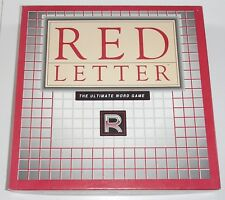 Vintage 1989 Red Letter Ultimate Word Strategy Game Near Mint & Complete
