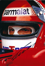 Niki Lauda autograph, In-Person signed 8X12 inches 1979 Brabham F1 photo
